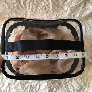 Victoria's Secret Bags - Victoria's Secret Makeup Cosmetic Travel Bag Clear